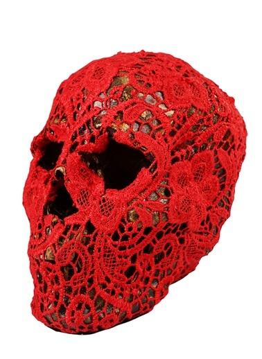 Knit Skull Aksesuar-Dekorazon